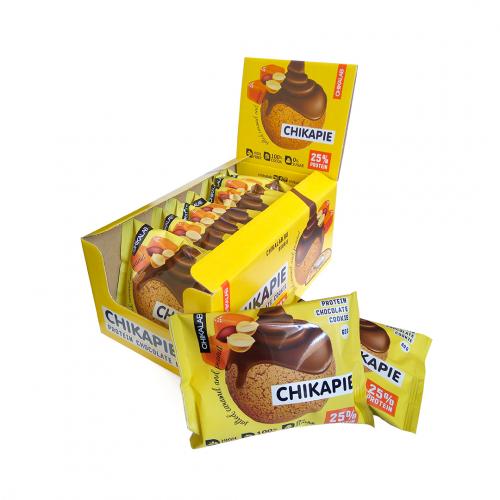 Печенье глазированное Арахисовое 60гр (Chikalab)