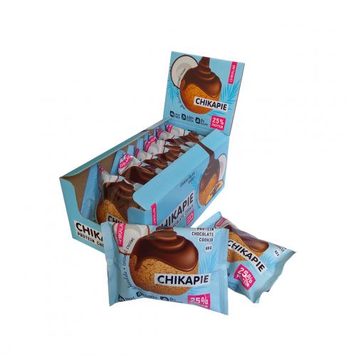 Печенье глазированное Кокосовое 60гр (Chikalab)
