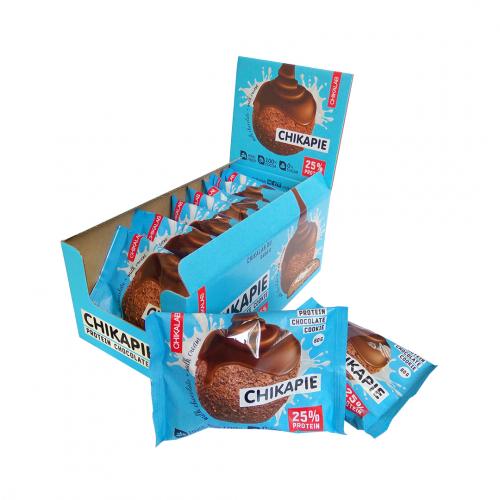 Печенье глазированное Шоколадное 60гр (Chikalab)
