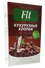 Кукурузные хлопья с Шоколадом 200гр (FitParad)