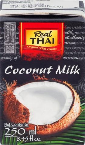 Кокосовое молоко REAL THAI 250 мл (Aroy-d)