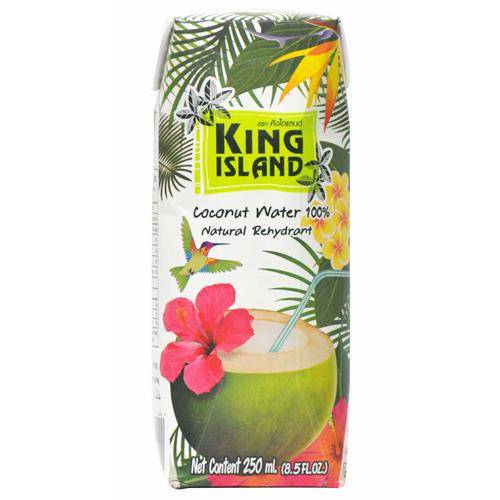 Кокосовая вода 250мл (King island)