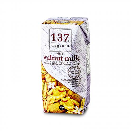 Молоко из грецкого ореха 180мл (137 Degrees)