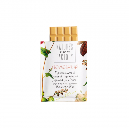 Шоколад гречишный белый 20гр (Natures own factory)