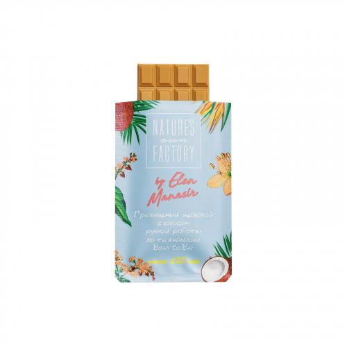 Шоколад гречишный с кокосом 20гр (Natures own factory)