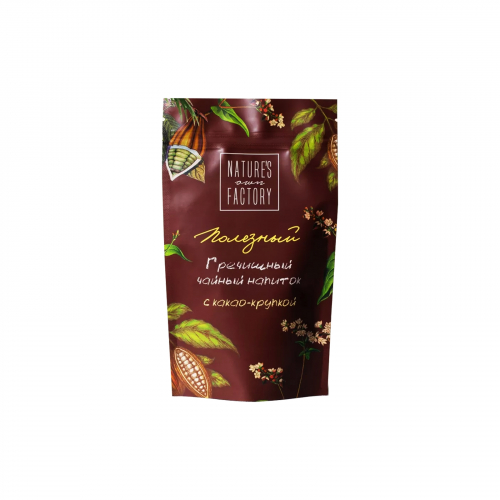 Чай гречишный с какао- крупкой 100гр (Natures own factory)