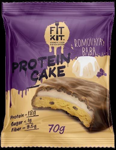 Печенье Ромовая баба 70гр (Fit Kit)