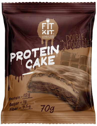 Печенье Двойной шоколад 70гр (Fit Kit)