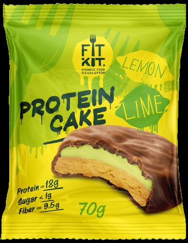 Печенье Лимон- лайм 70гр (Fit Kit)
