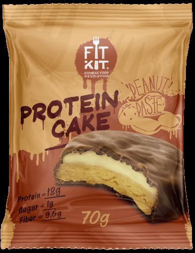 Печенье Арахисовая паста 70гр (Fit Kit)