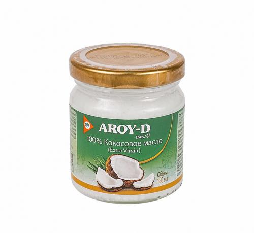 Кокосовое масло 180мл (Aroy-d)