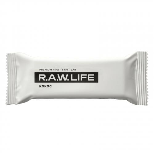 Батончик Кокос 47гр (Raw life)