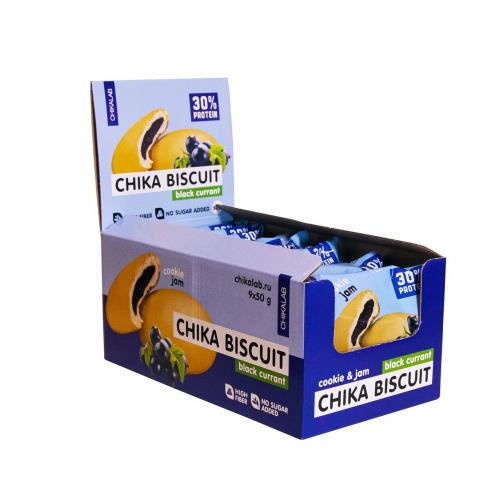 Печенье Бисквит черная смородина 50гр (Chikalab)