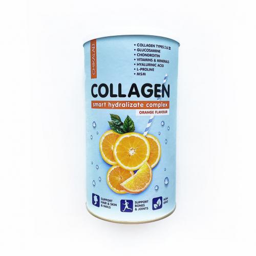 Коктейль Collagen Апельсиновый 400гр (Chikalab)