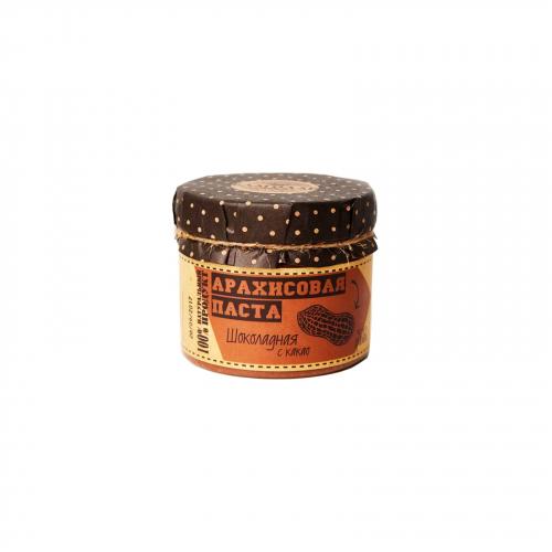 Арахисовая паста Шоколадная 300гр (Благодар)