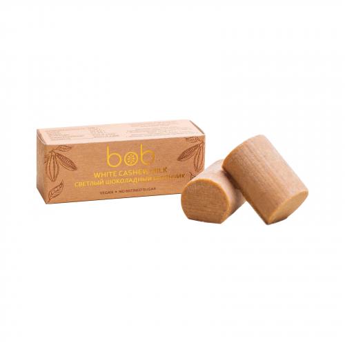Батончик светлый шоколадно- ореховый 50гр (Bob)