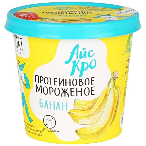 Мороженое Банан с протеином 75гр (Айс Кро)