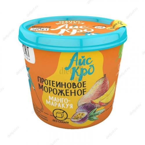 Мороженое Манго-маракуйя с протеином 75гр (Айс Кро)