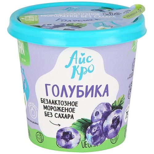 Мороженое веган Голубика 75гр (Айс Кро)
