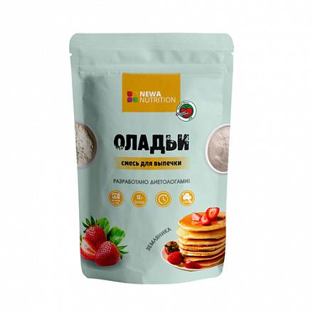 Смесь для выпечки кексов Клубника-земляника 200гр (Newa Nutrition)