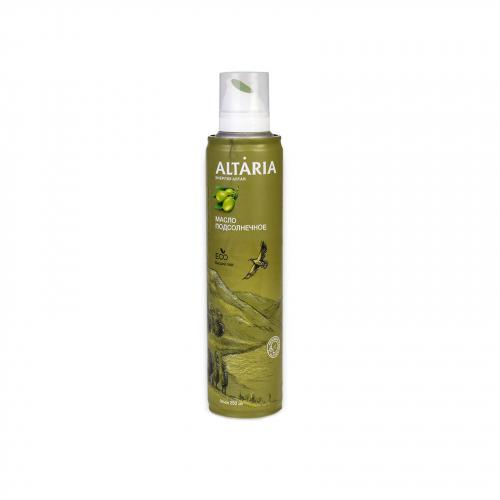 Масло Подсолнечное нерафинированное 250мл (Altaria)