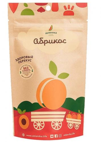 Фруктовый перекус из абрикоса 20гр (Зеленика)