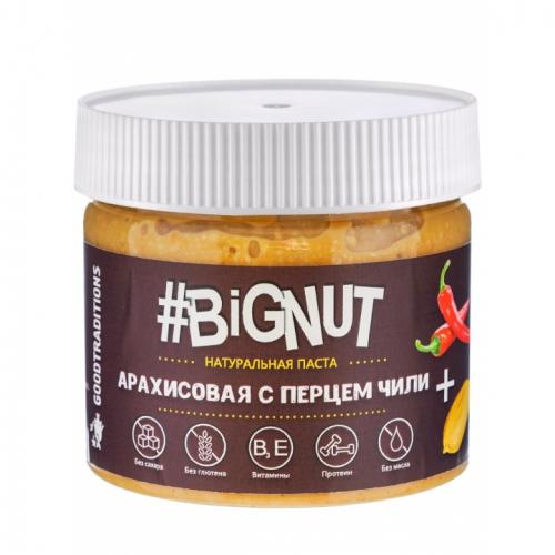 Арахисовая паста с перцем чили 300гр (Big Nut)
