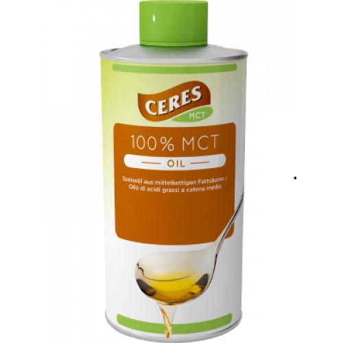 Масло растительное МСТ 100% 500мл (Ceres)