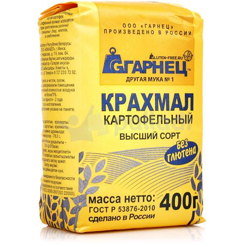 Крахмал картофельный 400гр (Гарнец)