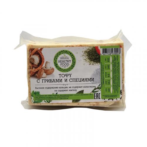 Тофу с грибами и специями (Healthy Food)