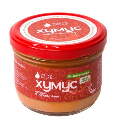 Хумус острый с перцем Чили 200гр (Volko Molko)