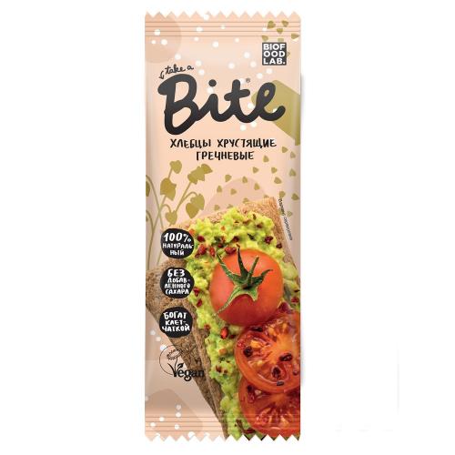 Хлебцы хрустящие гречневые 30гр (Bite)