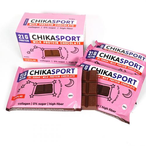 Шоколад молочный 100гр (Chikalab)