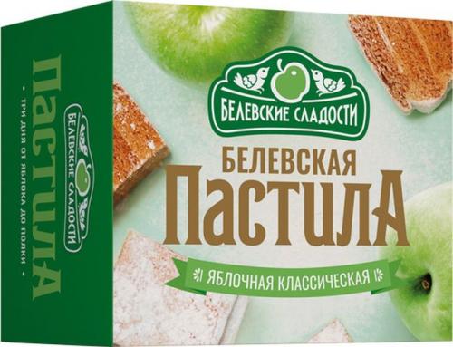 Пастила яблочная классическая 125гр (Белевские сладости)