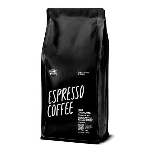 Кофе Милд 20% молотый 1кг (Tasty Coffee)