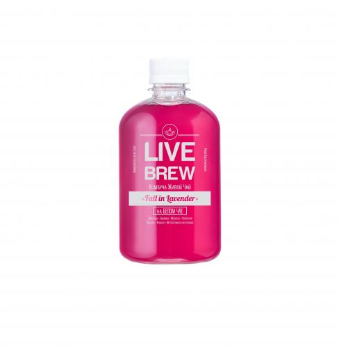 Комбуча Fall in Lavender 500мл (Live Brew)