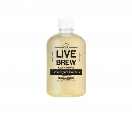 Комбуча Pineapple express 500мл (Live Brew)