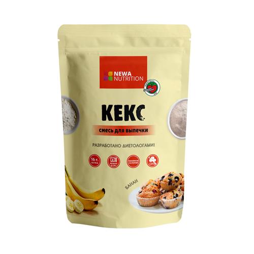 Смесь для выпечки кексов Банан 200гр (Newa Nutrition)