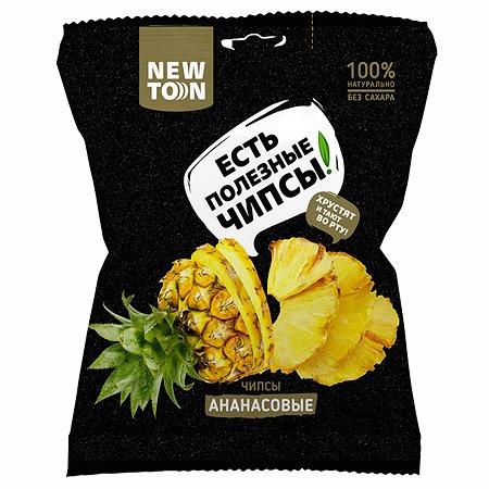 Чипсы ананасовые 30гр (NEWTON)