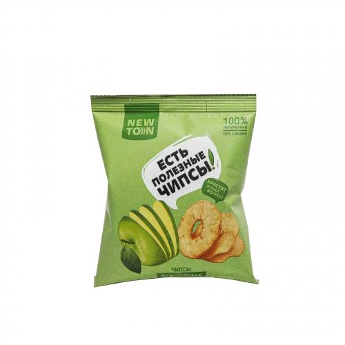 Чипсы из кисло-сладких яблок 25гр (NEWTON)