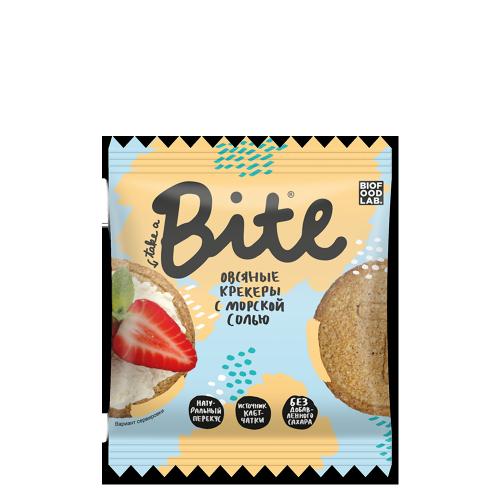 Овсяные крекеры с морской солью 66гр (Bite)