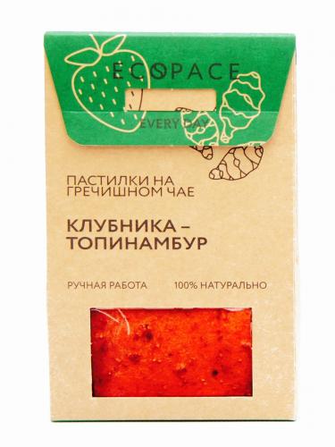 Пастилки на гречишном чае Клубника- топинамбур 40гр (Добрые традиции)