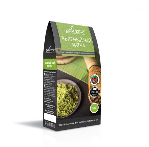 Зеленый чай матча 50 (Полеззно)