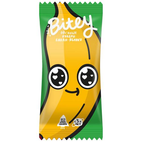 Батончик овсяно-фруктовый Яблоко-банан 30гр (Bite)