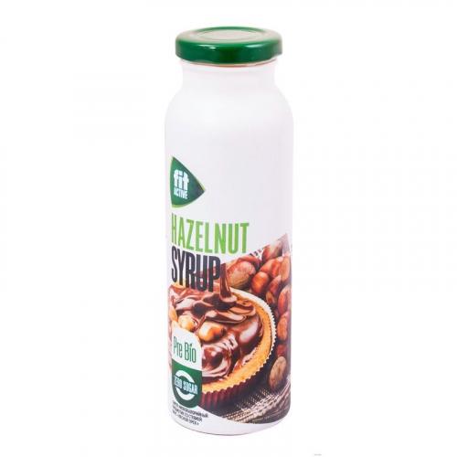 Сироп пребиотик со стевией Лесной орех 300гр (Fit Parad)